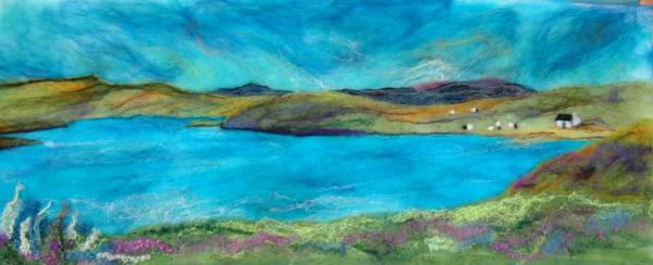 Lochside Beauty - This is another panoramic landscape, based loosley on a loch above Tomich.