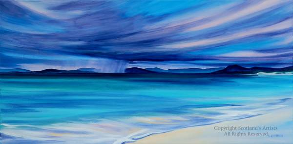 Calm Before the Storm, Isle of Harris - Acrylic