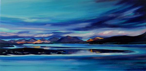 Shifting Light, Isle of Harris - Acrylic