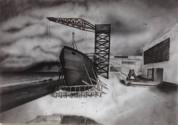 Shipyard - 2 Mixed Ink Airbrush