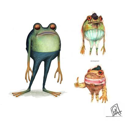 Feature Film Frog Design